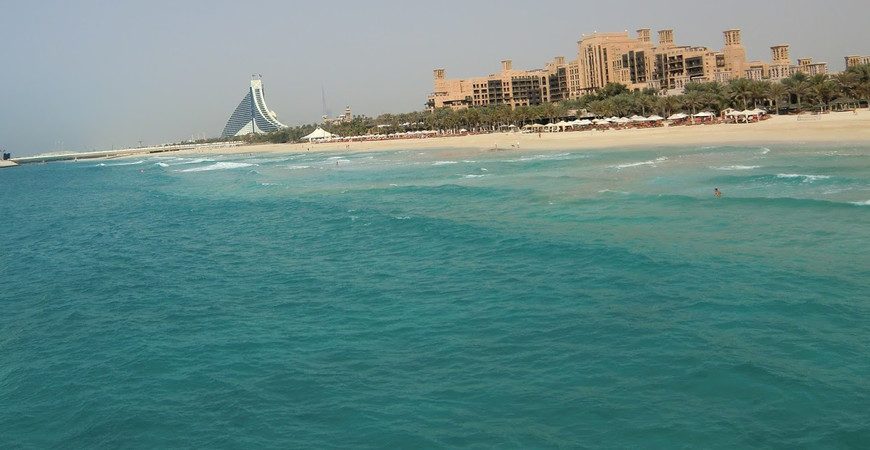 Пляж отеля Шератон (Sheraton Jumeirah Beach)
