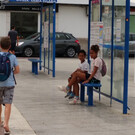 Автовокзал города Ибица