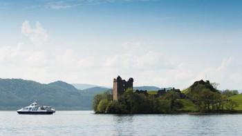 В Шотландии вновь появилось Лох-Несское чудовище