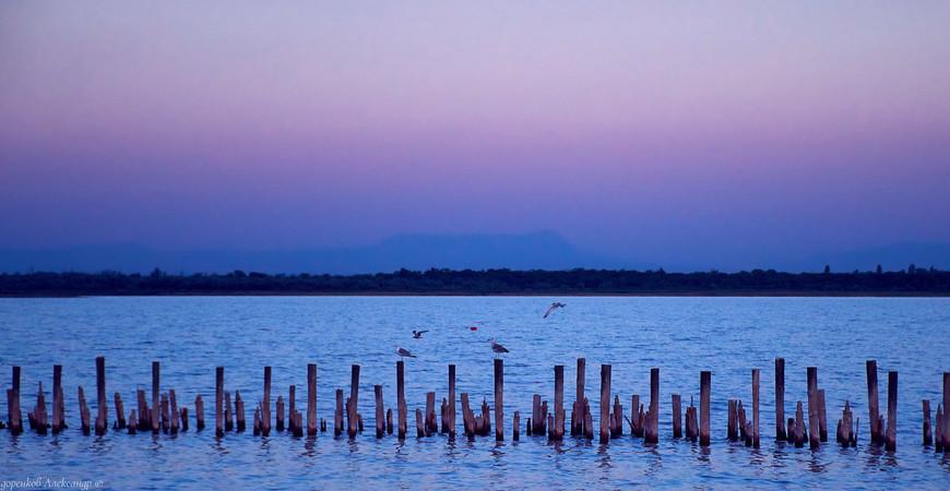 Сакское озеро в Крыму
