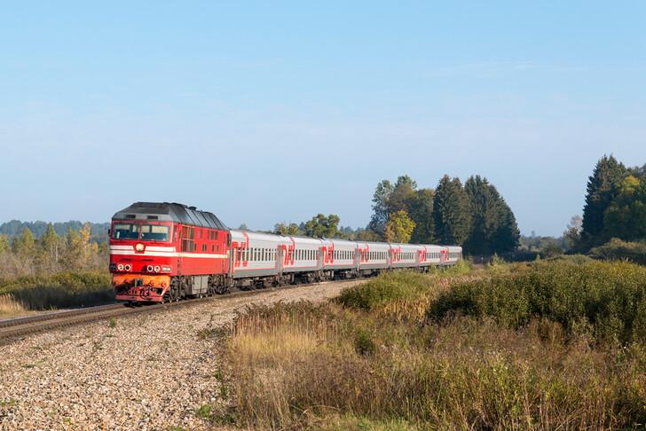 Поезд № 087А