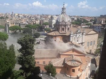В Риме обрушилась крыша церкви 17 века