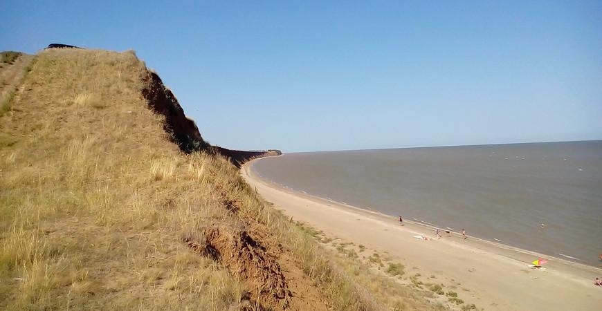 Пляж «Обрыв» в Ейске