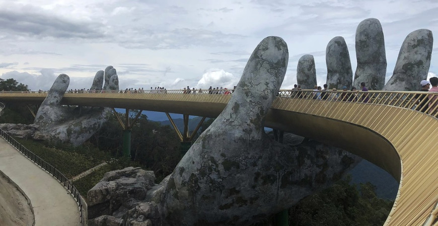 Золотой мост во Вьетнаме