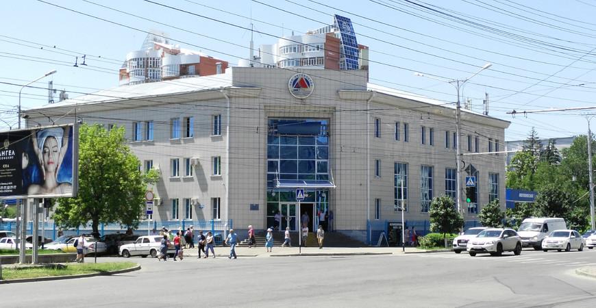 Центральный автовокзал Ставрополя