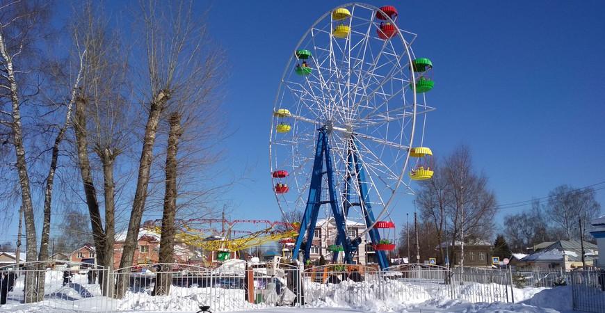 Парк культуры и отдыха им. В. Я. Степанова в Иваново