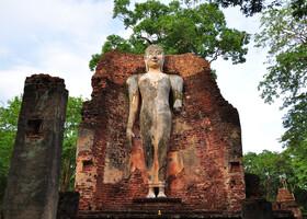 Руины древнего города Кампхенг Пхет