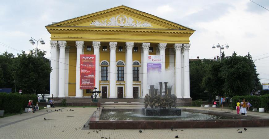 Заказ билетов в театр рязань афиша михайловского театра на 2016