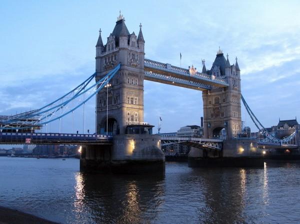 Нетуманный Лондон