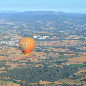 Полет на воздушном шаре над Каталонией
