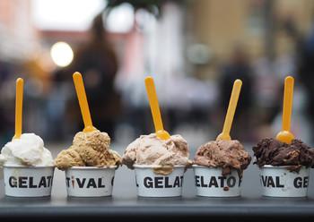 В Италии пройдёт фестиваль мороженого