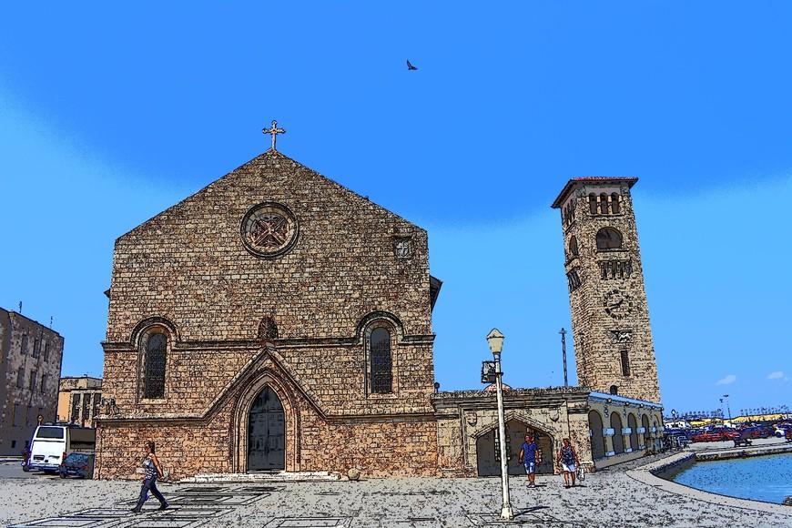 Главная церковь города Родос - Благовещения.