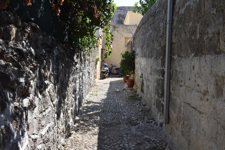 улочки Старого города. Родос.