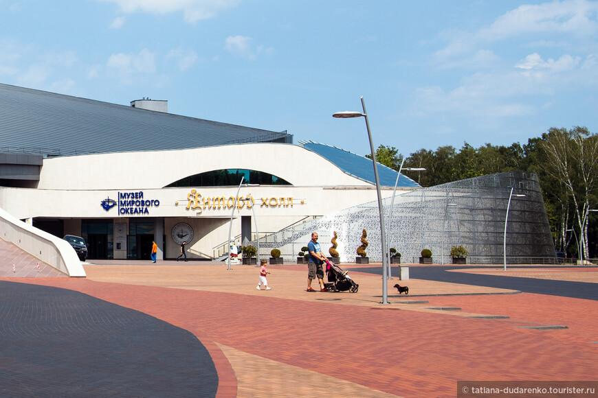 В Янтарь холле расположен один из самых известных музеев - Музей мирового океана.
