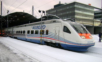 Билеты на поезд Аллегро появятся в продаже за 90 суток до отправления
