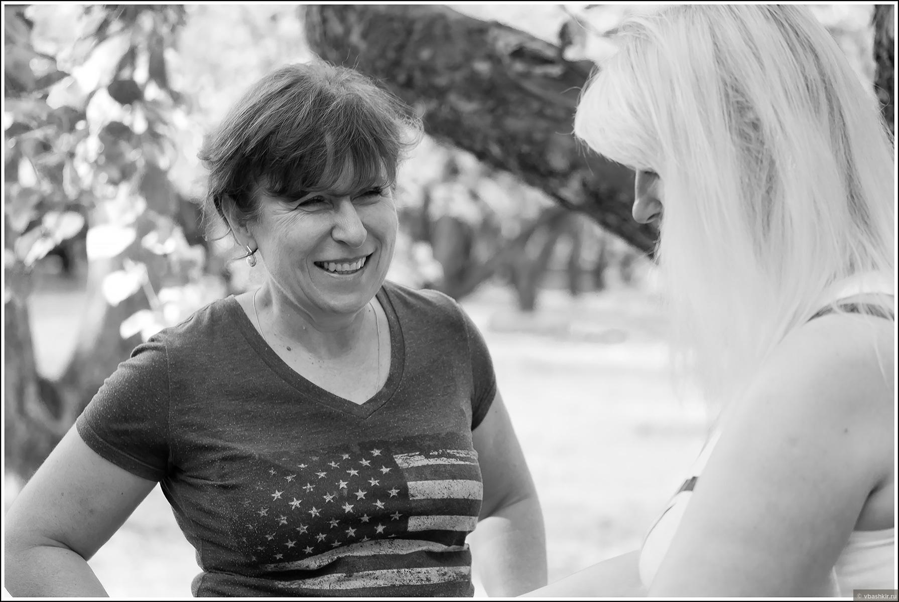 Оля и Аня, Туристер-Коломенское-сентябрь-2018