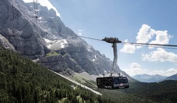 В Германии на горнолыжном курорте произошла крупная авария подъемника