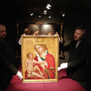 Живопись в преддверии картины - экспозиция готической живописи в монастыре св. Анежки Чешской. Мадонна из Вевержи. Экскурсии с частным индивидуальным гидом по Праге.