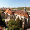 Живопись в преддверии картины - экспозиция готической живописи в монастыре св. Анежки Чешской.Экскурсии с частным индивидуальным гидом по Праге.