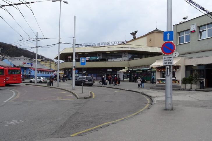 Вокзал Братиславы