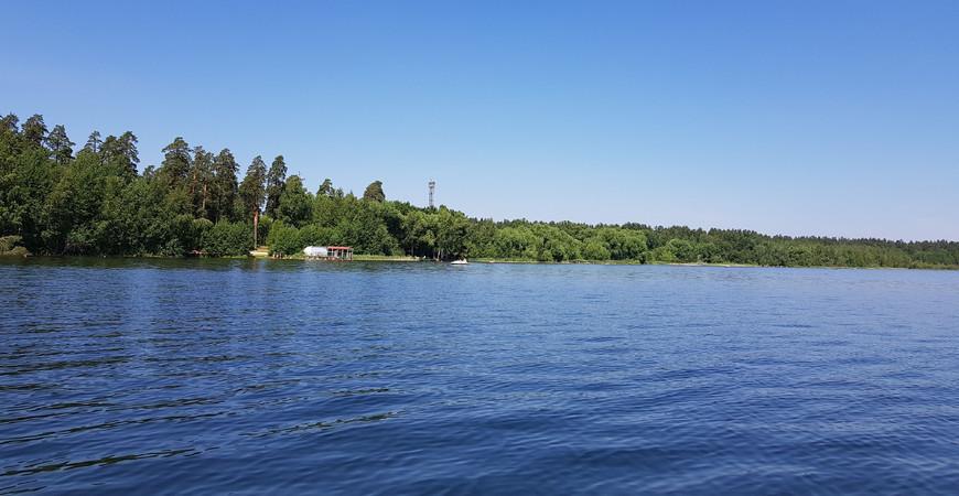 Белое озеро в Ульяновской области