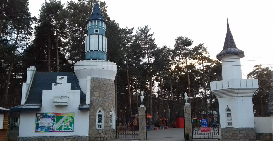 Центральный парк культуры иотдыха им.Ю. А. Гагарина в Челябинске
