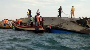 В Танзании на озере Виктория затонул паром: 207 пассажиров погибли