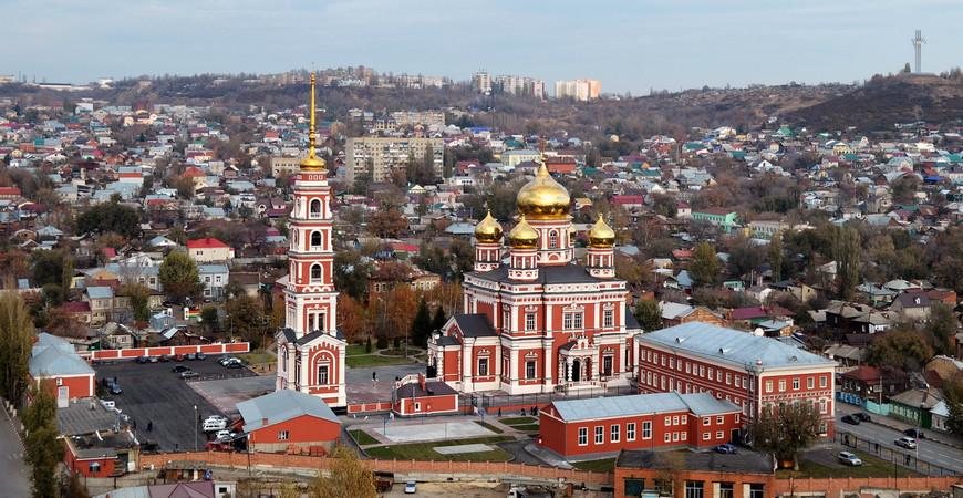 Покровский храм Саратова