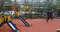 Детская площадка в Грачёвском парке