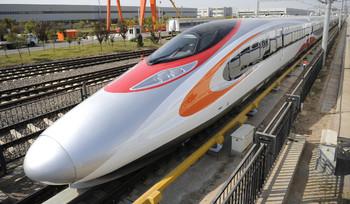 Между Гонконгом и Гуанчжоу запущен высокоскоростной поезд
