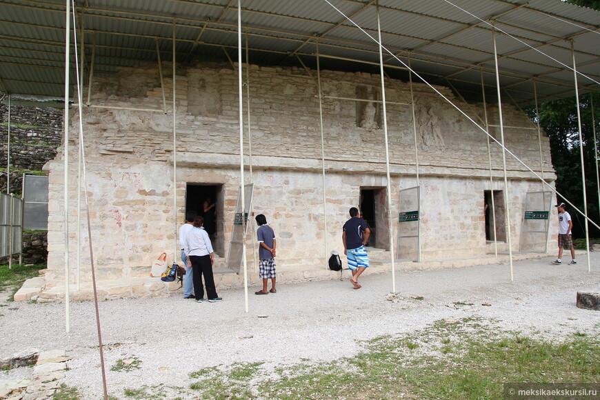Археолоническая зона Бонампак