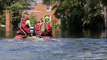 Жителям американского штата угрожают масштабные наводнения