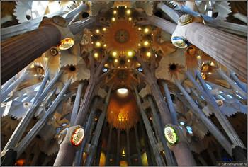 Высота храма Саграда Фамилия в Барселоне превысит 172 метра