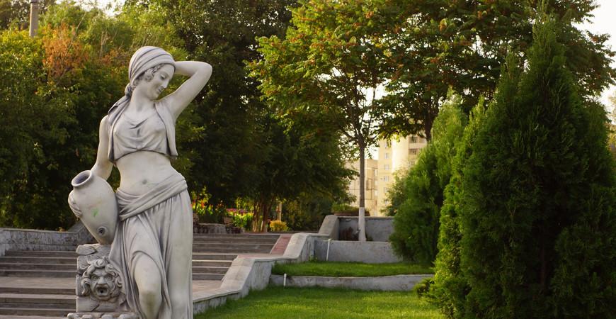 Парк «Аркадия» в Астрахани