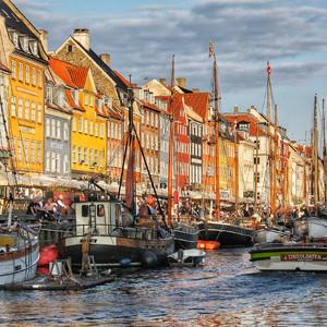Копенгаген. Стремительный взгляд с воды