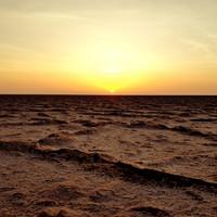 Встреча восхода на солончаке Шотт Эль Джери