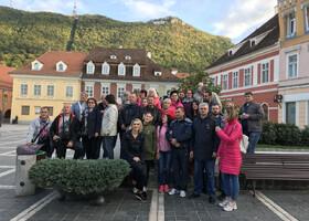 Фото моих гостей в Румынии