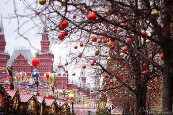 Москву включили в список городов мира с лучшими рождественскими ярмарками