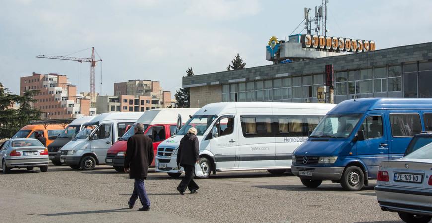 Автовокзал Ортачала в Тбилиси