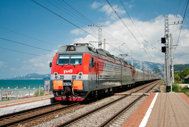 Поезд Саратов — Адлер (Сочи)
