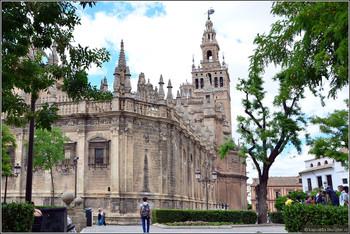 В Севилье туристам грозит штраф до 30 000 евро за дрон, рухнувший на собор