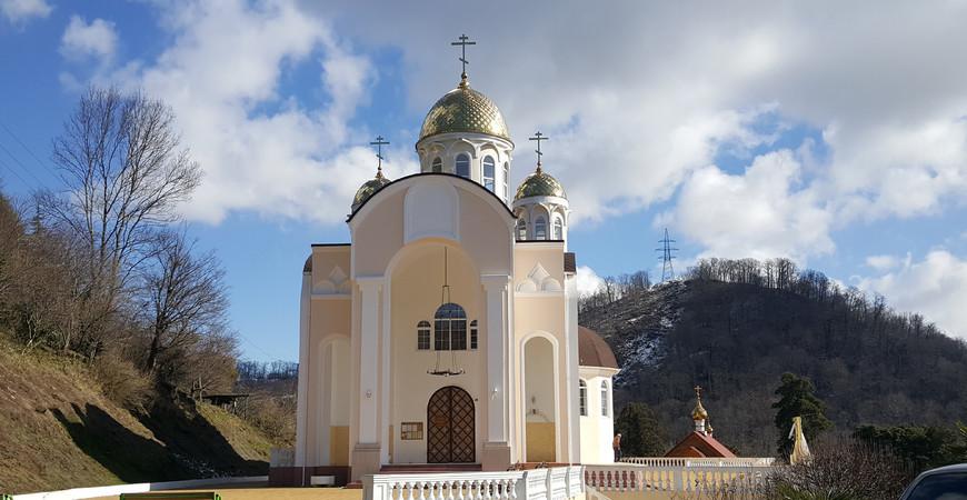 Храм Казанской иконы Божией Матери в Дагомысе