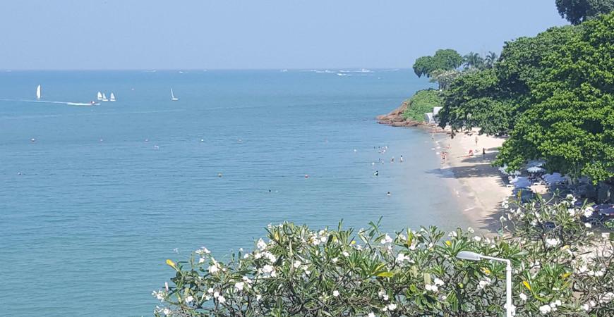 Пляж Азия Бич в Паттайе