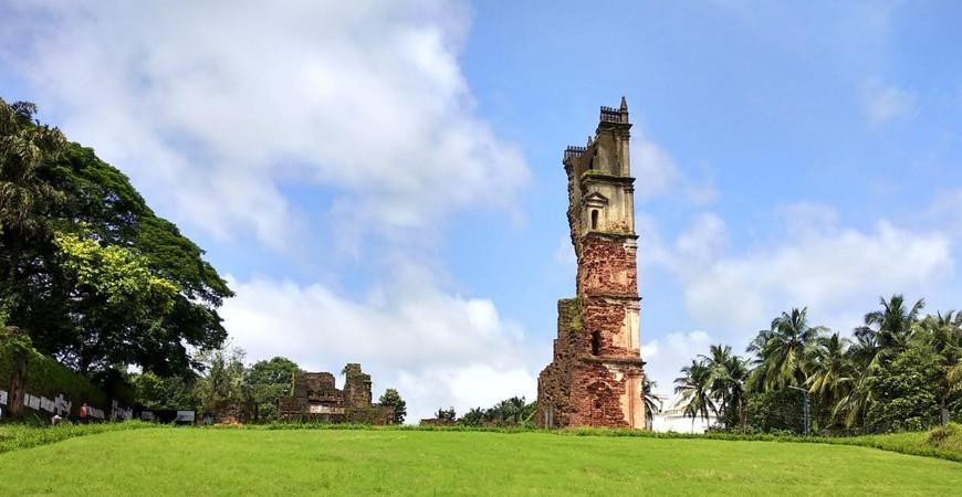 Церковь святого Августина (Church of Saint Augustine in Goa)