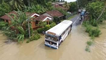 Шри-Ланка страдает от ливней и наводнений