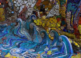 Санкт-Петербург. Мозаичный дворик