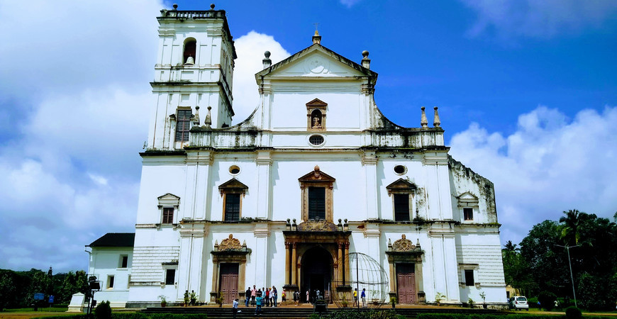 Кафедральный собор святой Екатерины в Гоа (Se Cathedral in Goa)