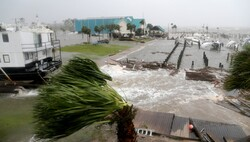 В США из-за урагана
