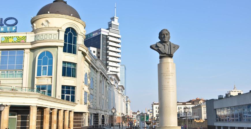 Площадь Тукая в Казани