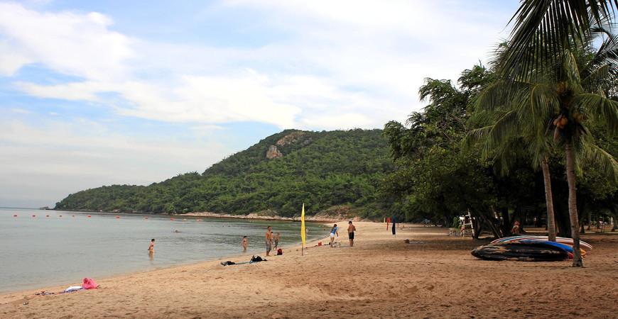 Военный пляж в Паттайе